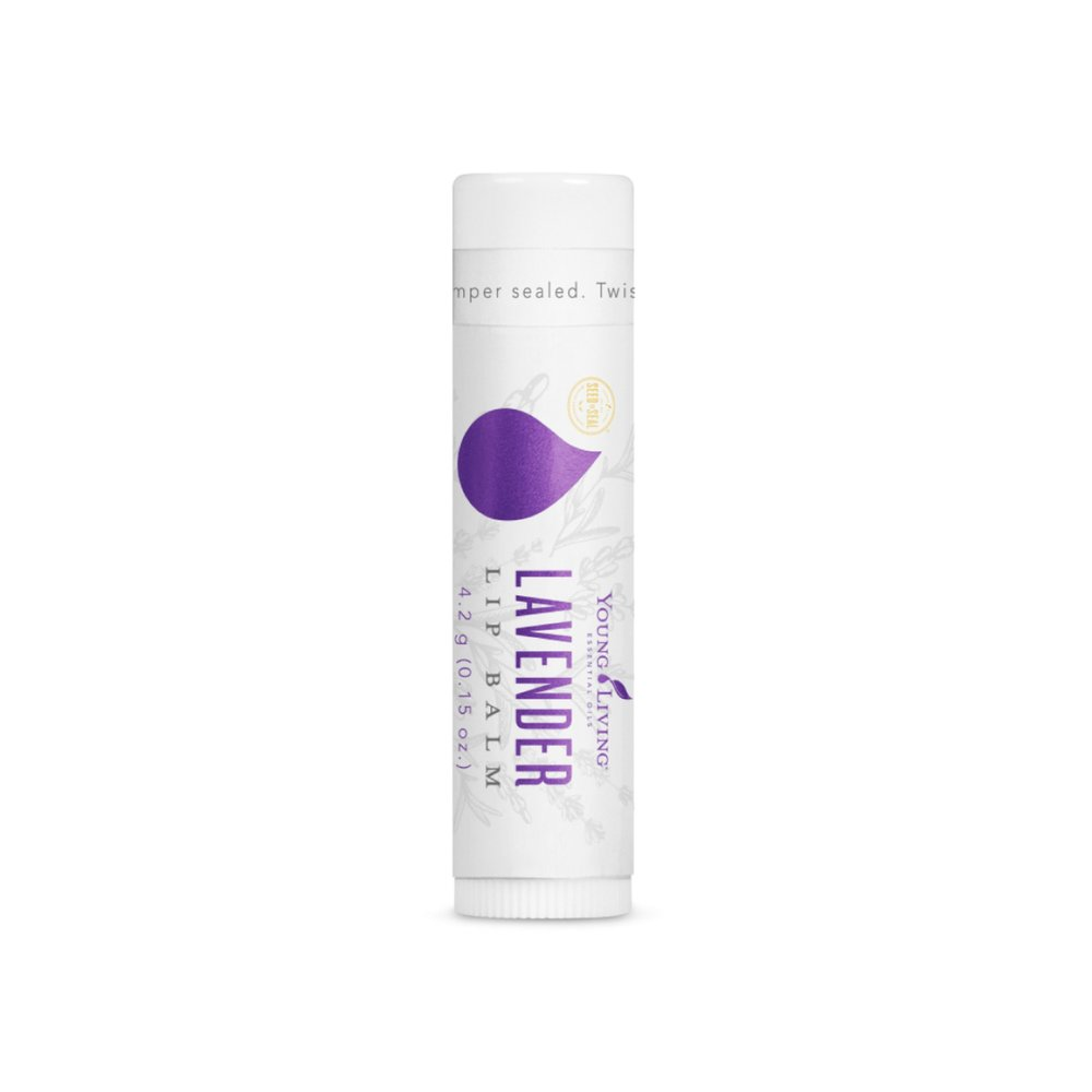 LAVENDER LIP BALM    Lavender Lip Balm soothes dry lips, harnessing the power of Lavender essential oil and the moisturizing properties of jojoba oil and vitamin E. This lip balm is perfect for on the go, and leaves a long lasting moisture and protective barrier on the lips.   Click here   to learn more about this product.