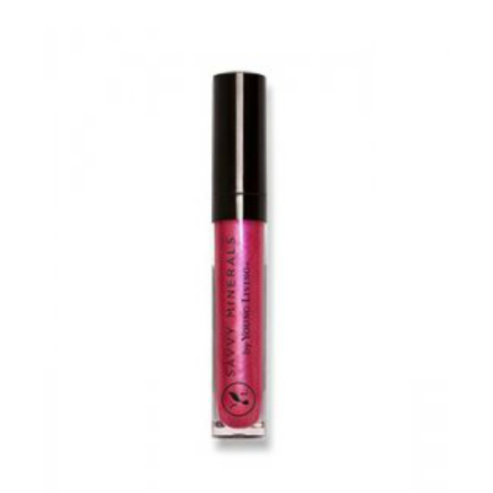 ROCKIN'    Rockin' is a pinkish red color. This lip gloss is infused with Peppermint essential oil and provides natural-looking, sheer to medium color coverage while adding shine. It applies flawlessly without the sticky feeling of many lip glosses. It's also formulated without parabens, phthalates, petrochemicals, bismuth, talc, synthetic fragrances, or synthetic colorants.   Click here   to learn more about this product.
