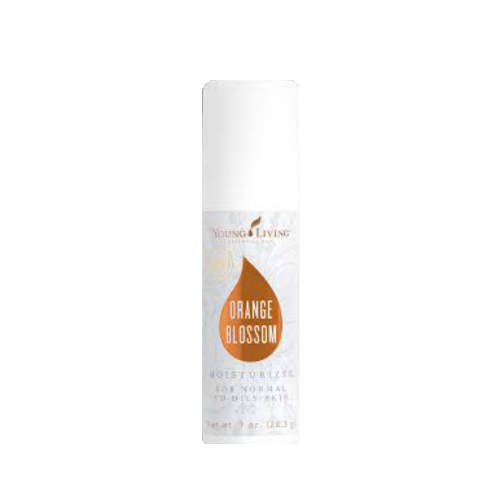 ORANGE BLOSSOM MOISTURIZER    Treat your skin to a deep drink of hydration with Orange Blossom Moisturizer, formulated with essential oils for skin. Made to benefit oily complexions, this moisturizer improves the appearance of skin without irritation from harsh chemicals. It helps the skin maintain optimal moisture balance, controls excess oil and shine, and preps your face for makeup with its natural-looking matte finish.   Click here  to learn more about this product.