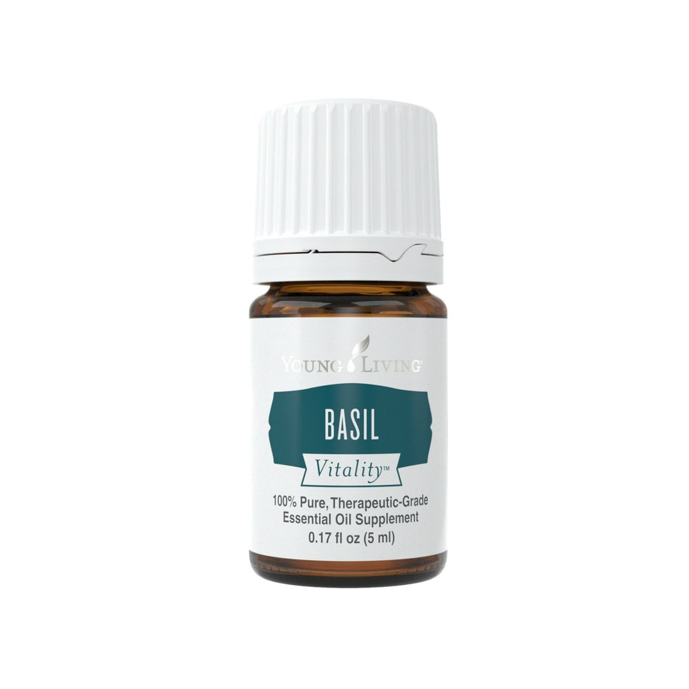 BASIL VITALITY    Basil Vitality has a sweet, warm scent and flavor. This herb is found in a variety of dishes and is popular in both Asian and European cooking. Using an essential oil, you'll get a brighter flavor than dried herbs without the hassle of fresh herbs.   Click here   to learn more about this product.
