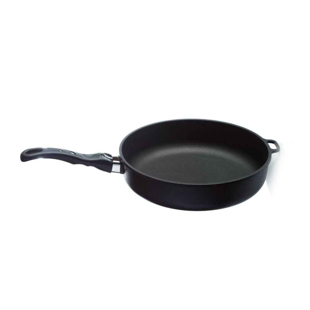HIGH RIM FRYING PAN 20x7    This deep set 20x7cm size is great for cooking small to medium sized dishes. Young Living's titanium pans are premium cookware products that cook evenly without sticking, won't warp or lose their shape, and don't have Teflon coating. The titanium coating allows you to cook with little or no fat and is non-porous. The bases are made of cast aluminum, which conducts heat seven times faster than iron or steel. The patented handles have no screws or rivets to loosen and fall off. All handles, lids, and knobs are ovenproof up to 500° F.   Click here   to learn more about this product.