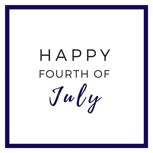 Happy Fourth of July, friends! 🙌🏼🇺🇸
