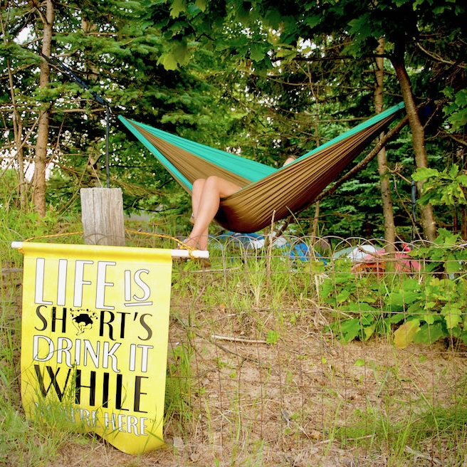 Shorts Brewing hammock
