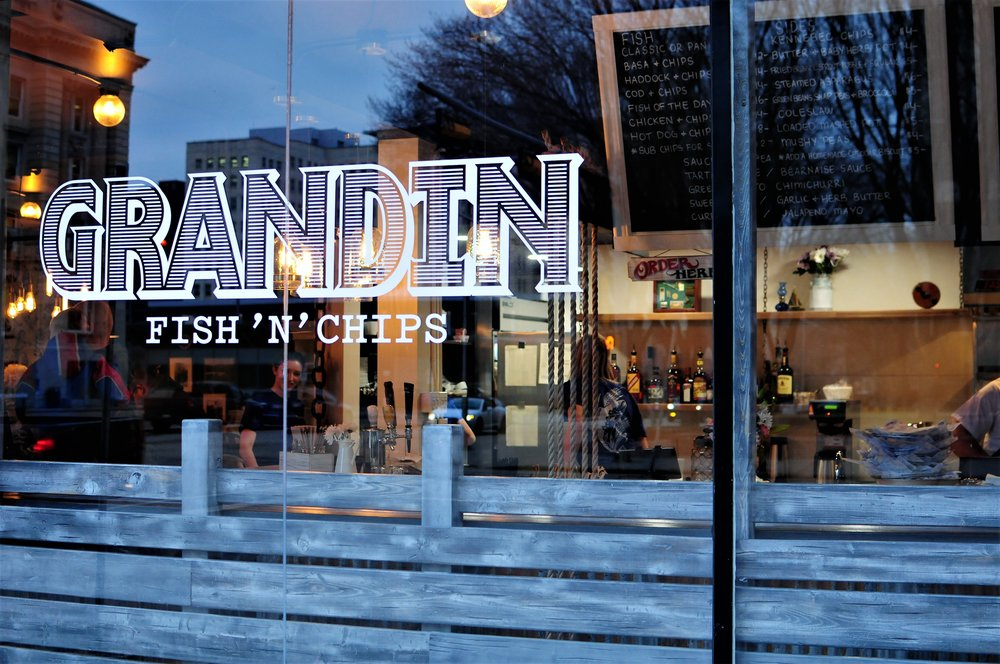 GRANDIN FISH & CHIPS