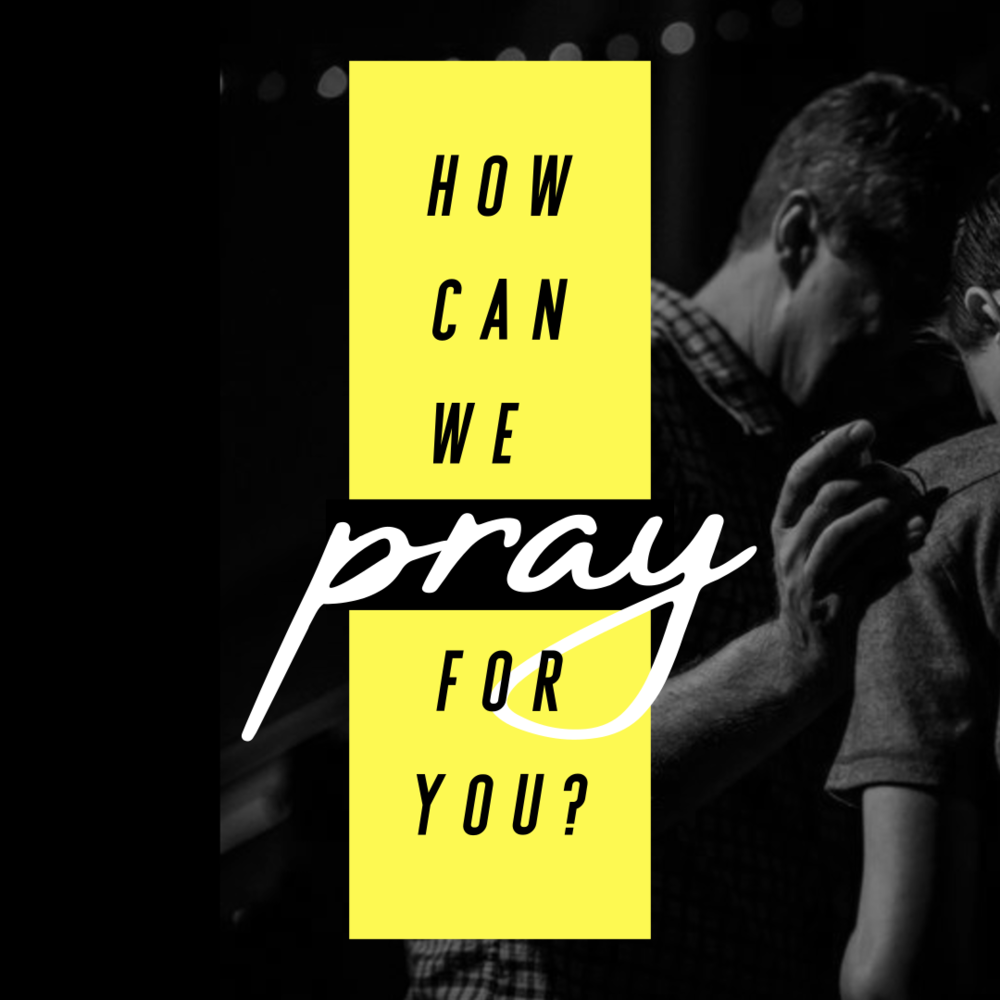 Prayer Needs and Groups