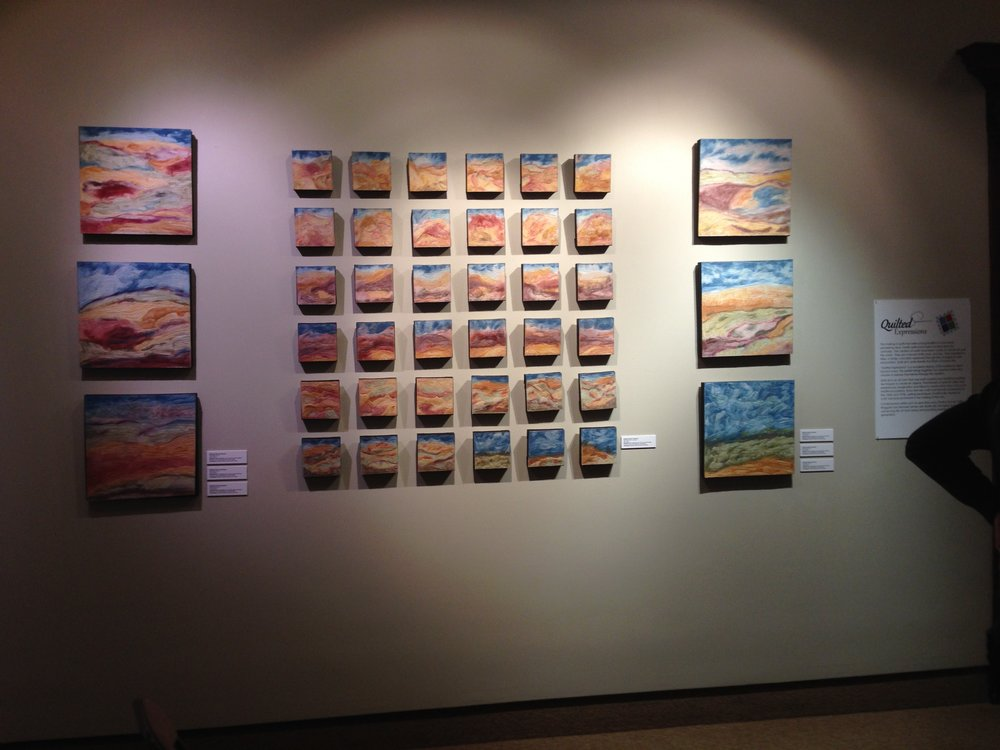 Field Notes Numbers 1 thru 42    On display at the Blanden Memorial Art Museum in Fort Dodge, Iowa.