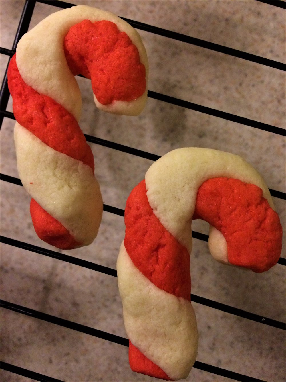 and I'm pretty proud of my gluten free candy cane cookies. Happy Holidays Shelby & Kevin @WhiteRabbit