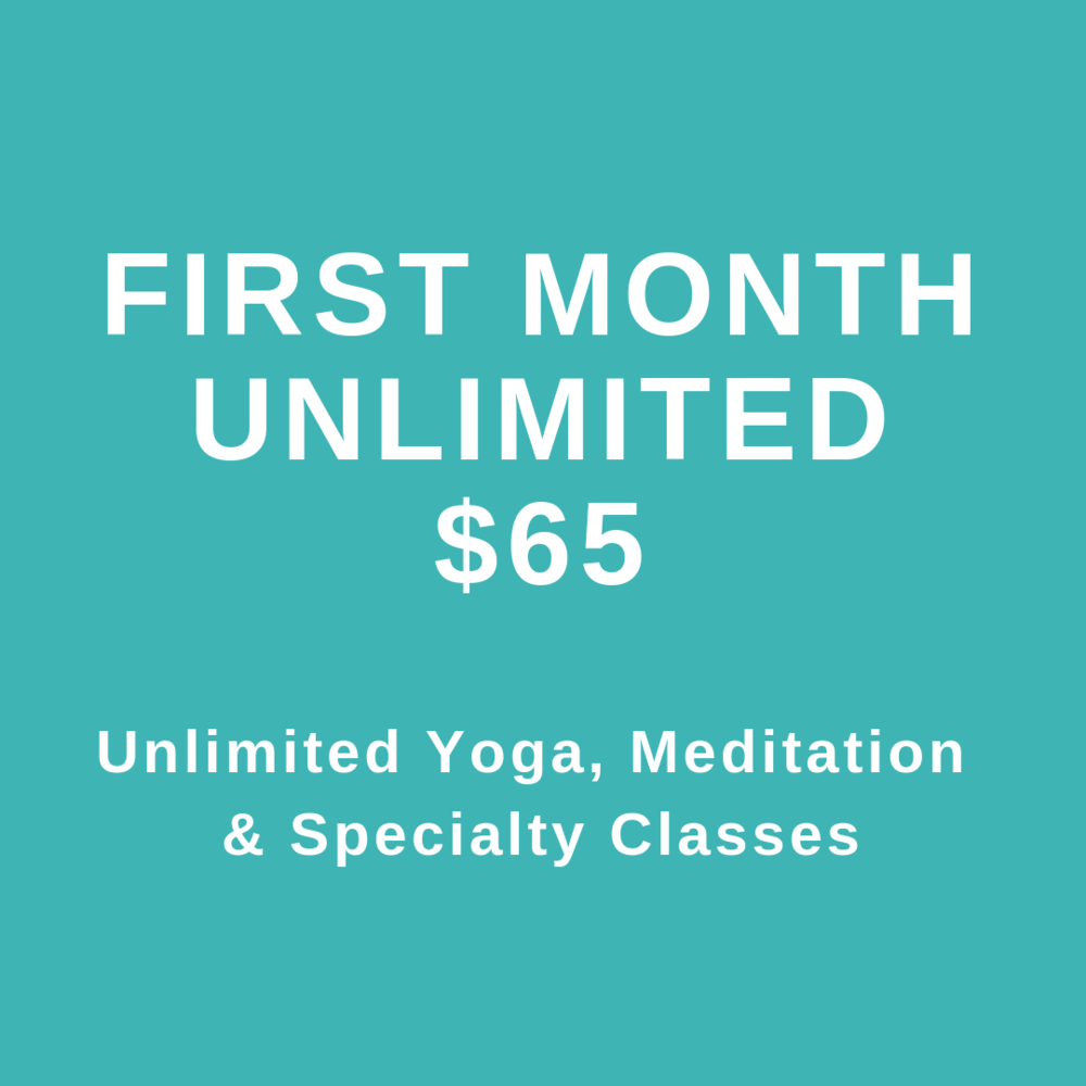 First Month Unlimited $65