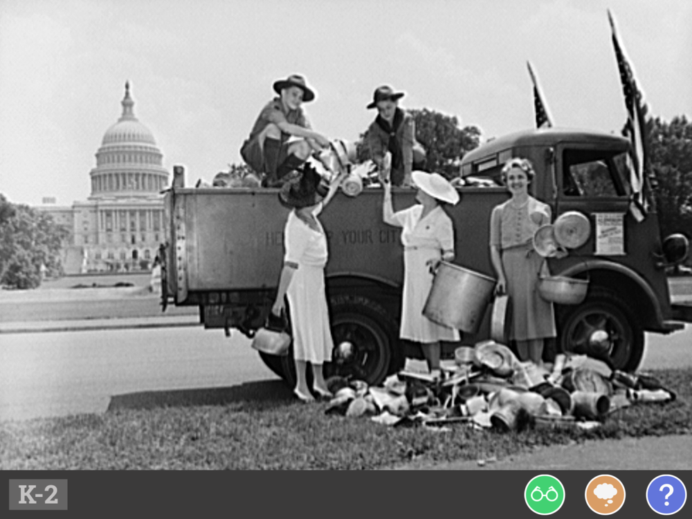 How have kids demonstrated good citizenship and made a difference in their communities? - Children in school long ago learned about different materials they could recycle to help their country.