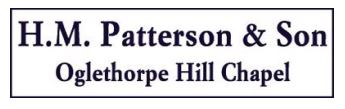 H.M. Patterson & Son - Oglethorpe Hill Chapel