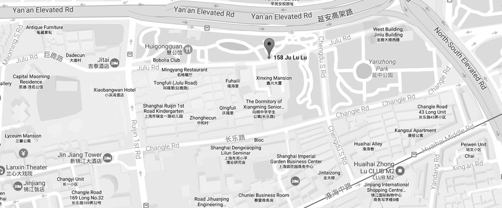 DEUS Shanghai Map