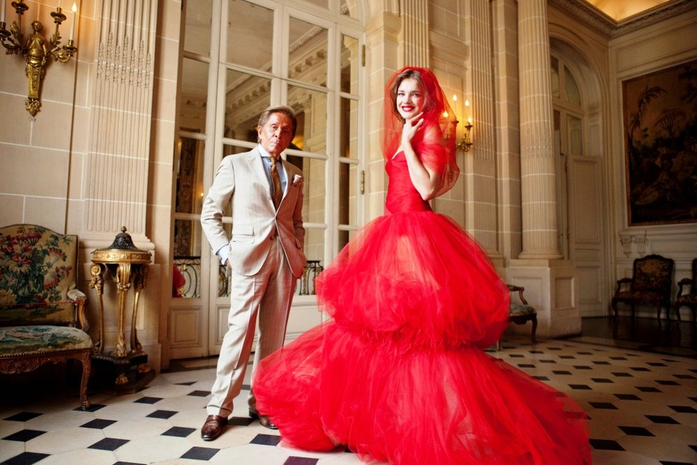 Valentino Garavani and Natalia Vodianova at Musée Nissim de Camodo in Paris, 2011 © Kevin Tachman