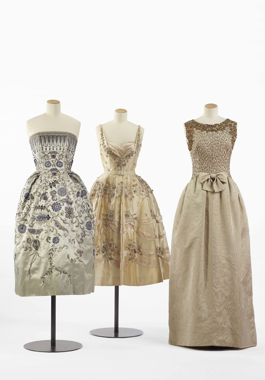 Dior 1952, Balmain 1955, Balenciaga 1960 - Photos c Olivier Saillant