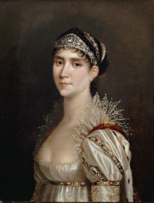 Portrait of Josephine painted by Robert Lefever c.1805 wearing the Tiara by Nitot.