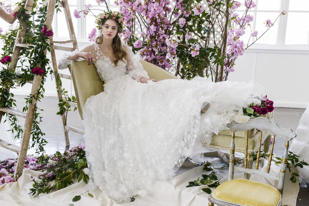 Marchesa Notte Spring 2018 Bridal