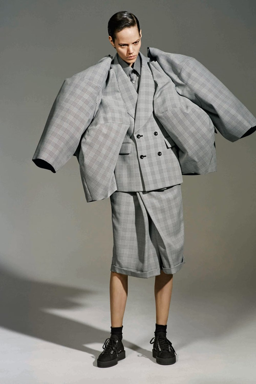 The Infinity of Tailoring, autumn/winter 2013–14; Courtesy of Comme des Garçons. Photograph by © Collier Schorr