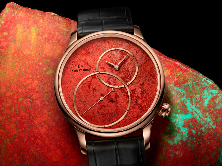 Jaquet Droz Grande Seconde off centered cuprite