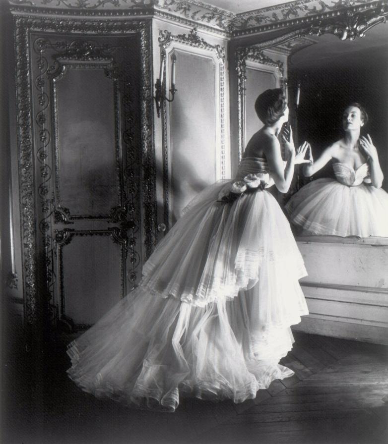 Louise Dahl-Wolfe, Dior Ballgown , Paris, 1950