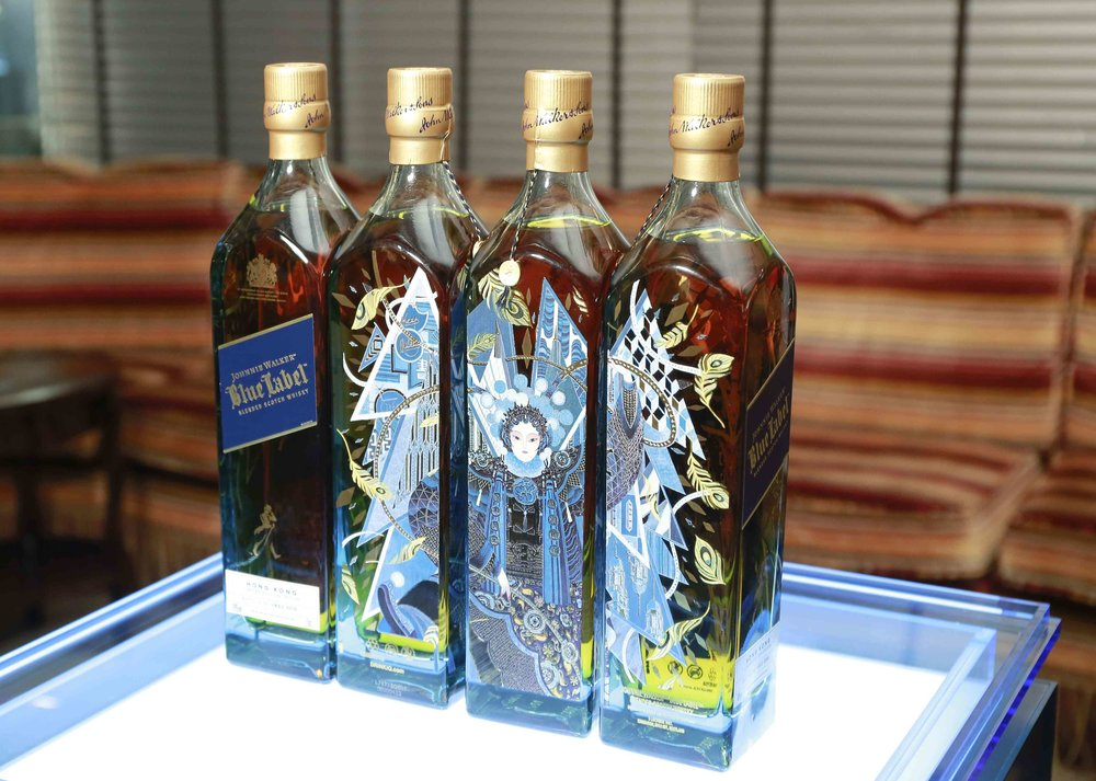 Johnnie Walker Blue Label Victo