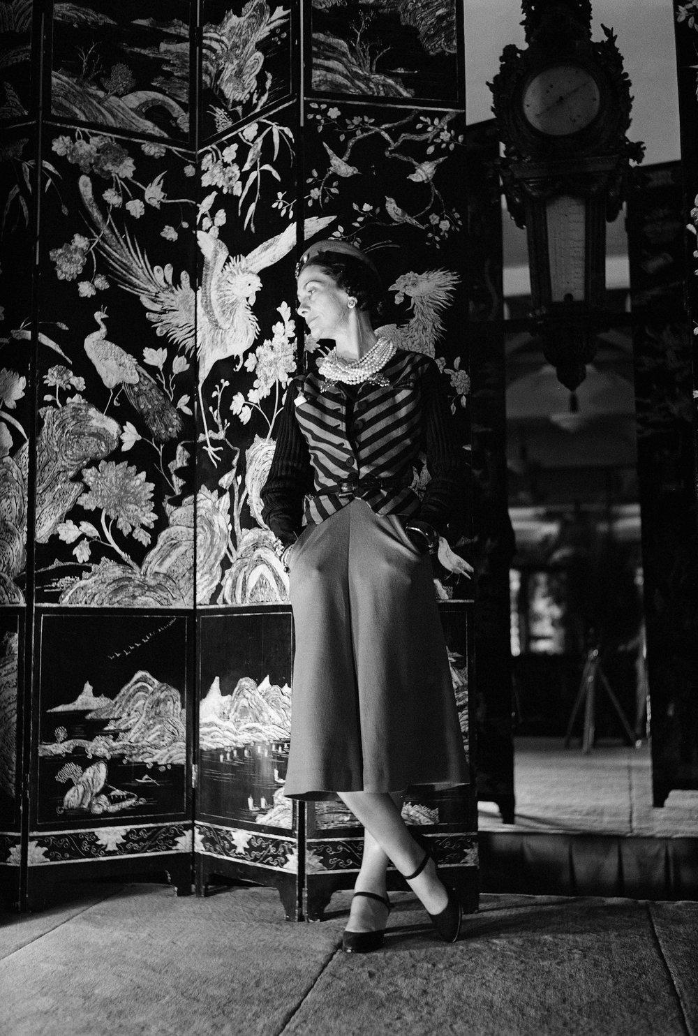 Coco Chanel and her Coromandel screens