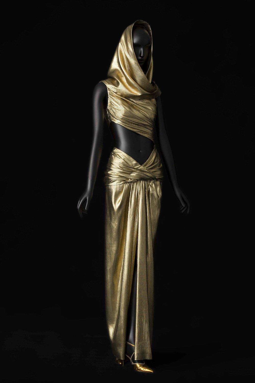 06 - Robe de soir, collection SAINT LAURENT rive gauche automne-hiver 1991 © Musée Yves Saint Laurent Paris _ Sophie Carre.jpg