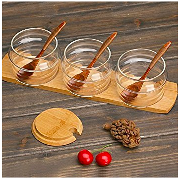 Glass Spice Jars - I have these and LOVE them