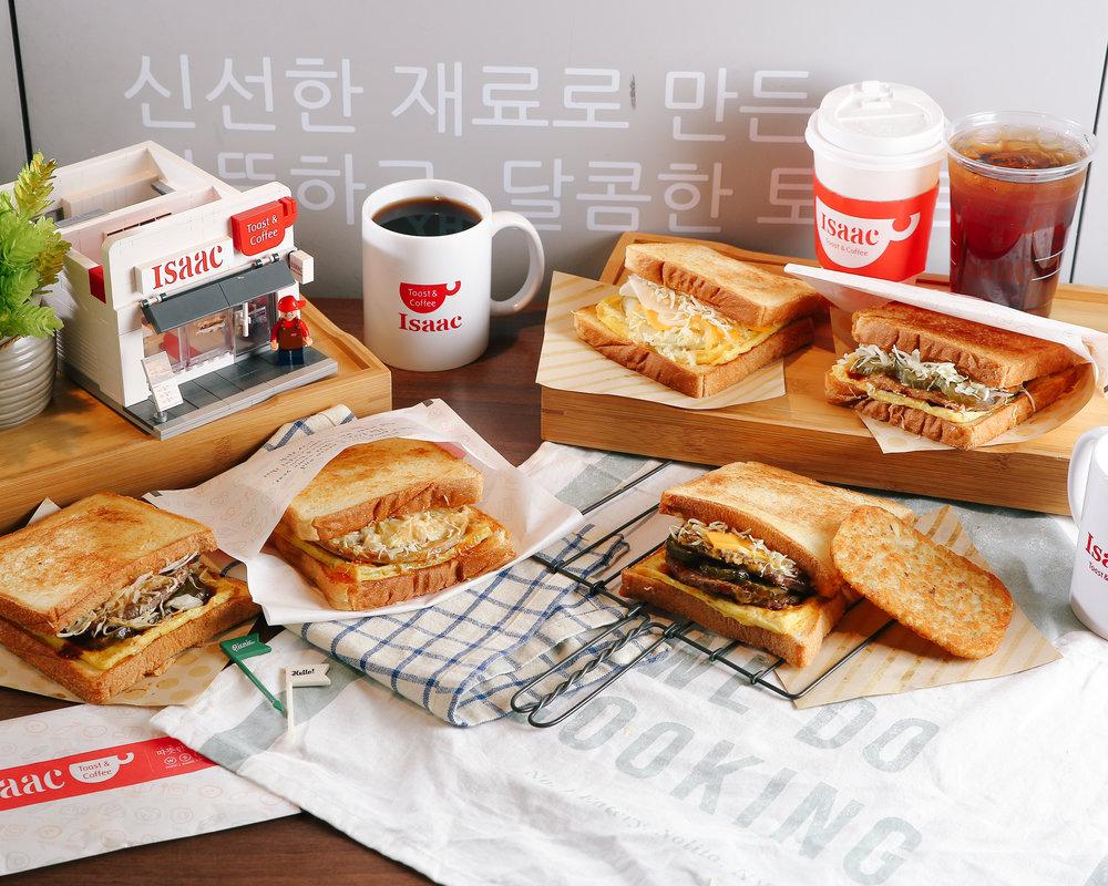Isaac Toast & Coffee -