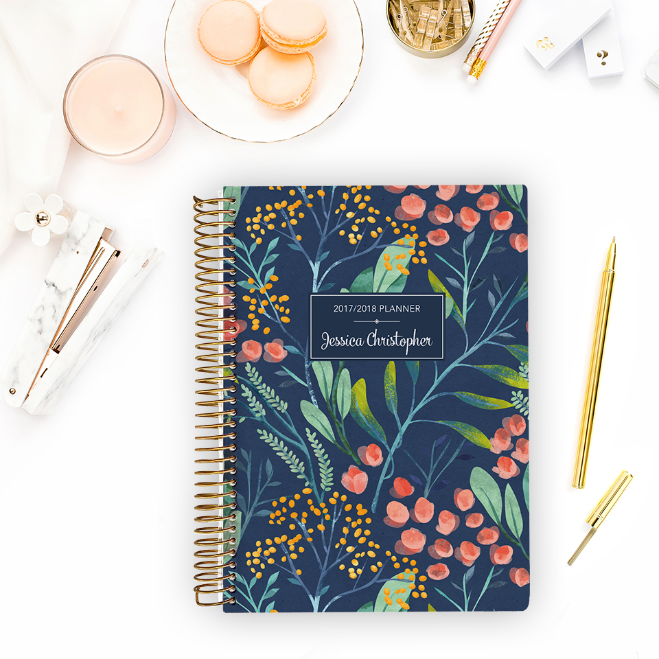 personalized planners by posy paper co planners agendas teacher