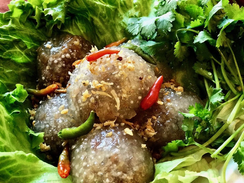 Pork Stuffed Tapioca Balls