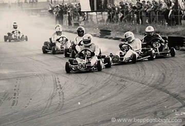 1973 - Kart 1° categoria Reggio Emilia (Patrese #90)
