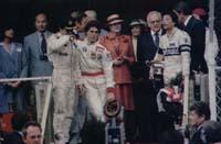 Monaco GP podium