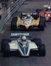 Riccardo followed by Prost & Pironi