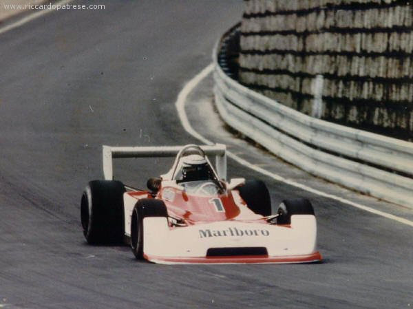 Macau GP winner [photo provided by Carlo Fiorentini]