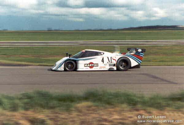 Silverstone - Patrese/Alboreto Lancia LC2