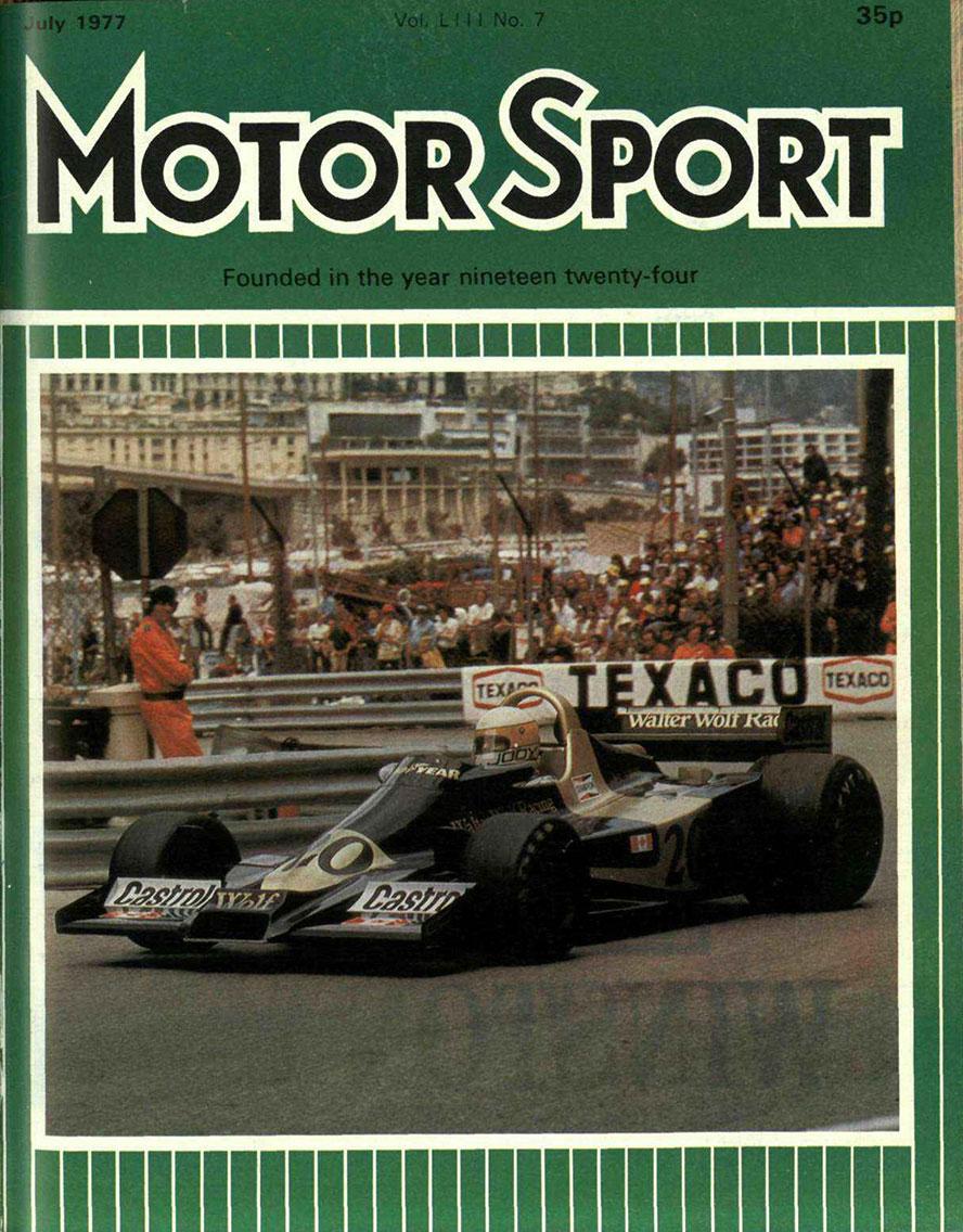 Motor Sport Magazine - July 1977