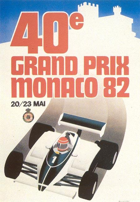 Monaco GP poster