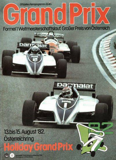 Austrian GP programme