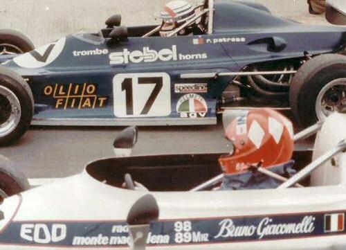 Formula Italiarivals Bruno Giacomelli & Riccardo Patrese