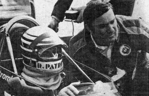 Riccardo with Pino Trivellato