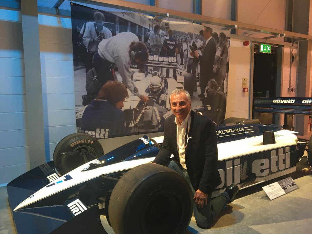 With the Brabham BT55-BMW