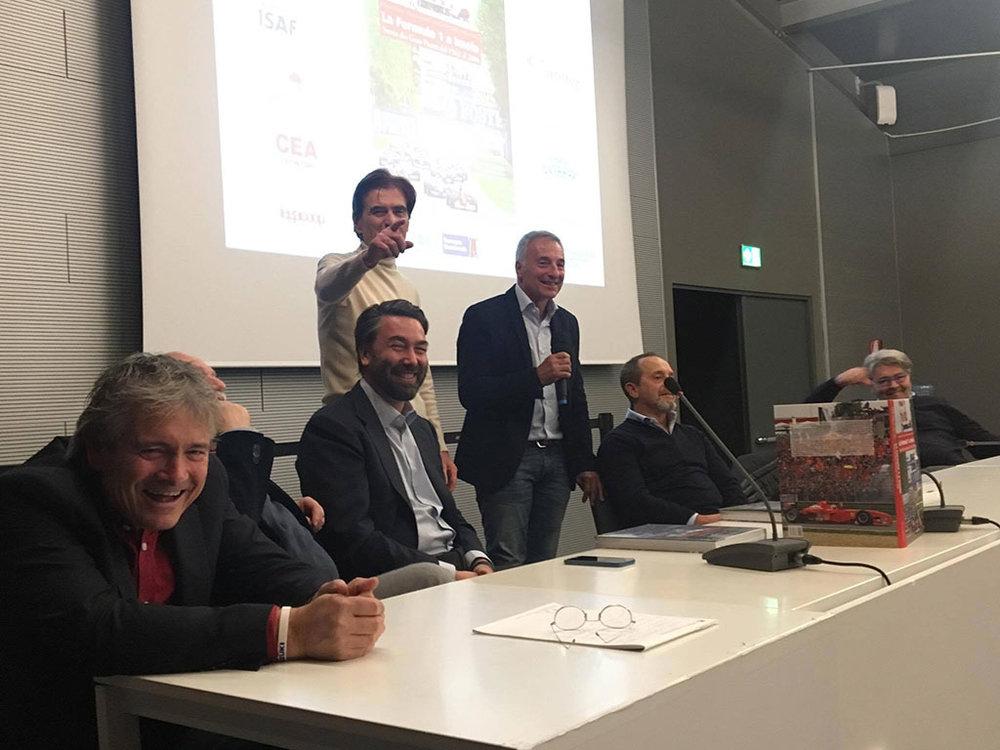 """Presentazione del volume """"La Formula 1 a Imola - Storia dei Gran Premi dal 1963 al 2006""""  Imola - 16 novembre 2017  Photo © Francesca Accordi"""