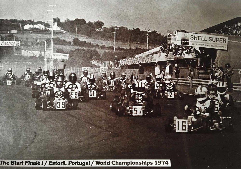1974 World Kart Championships at Estoril