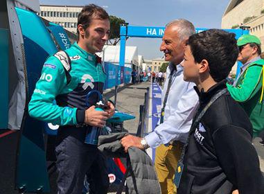 NIO Formula E Team driver Luca Filippi
