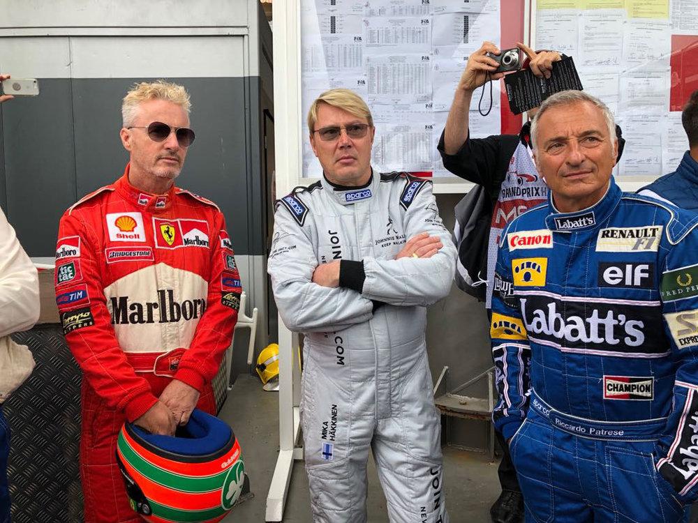 Eddie Irvine & MikaHäkkinen