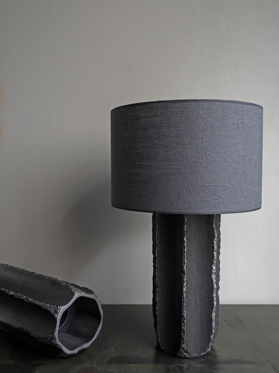 Leather Vase & Table Lamp <i><br>from 8.900 DKK</i>