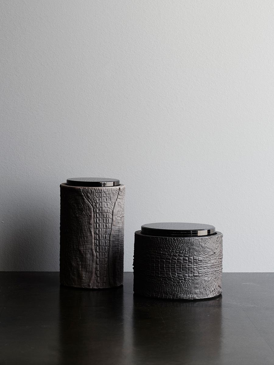 Crocodile Skin Jars <i><br>2.600 DKK</i>