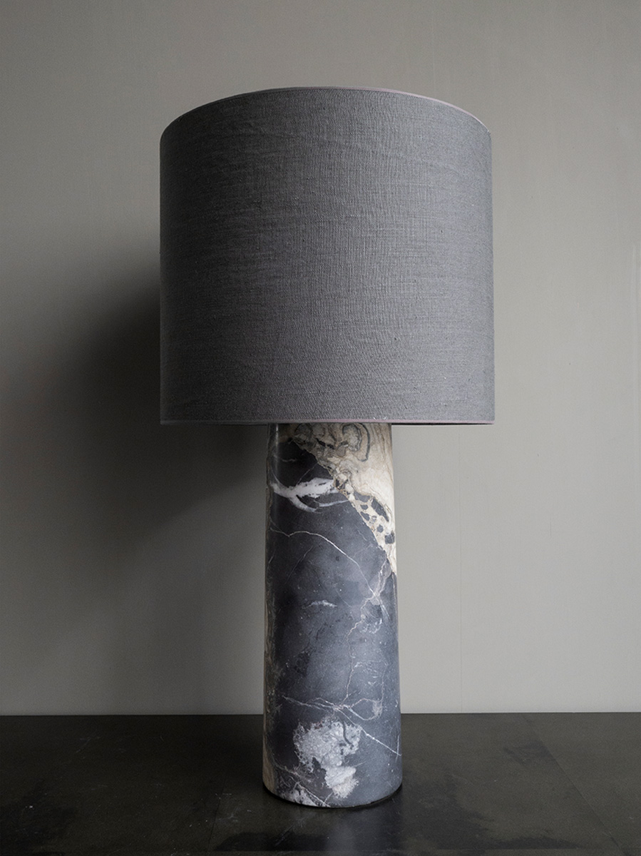 Light Marble Table Lamp