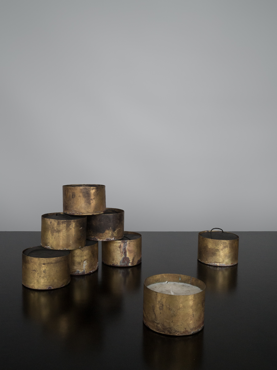 Scented Brass Candle
