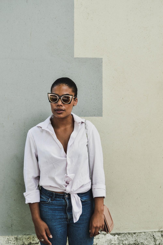Shirt: Next (men) - Jeans: H&M - Sunglasses: Fendi - Bag: 3.1 Phillip Lim