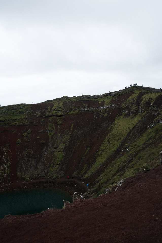Keirid volcanic crater lake